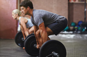 blog image for free weight training article