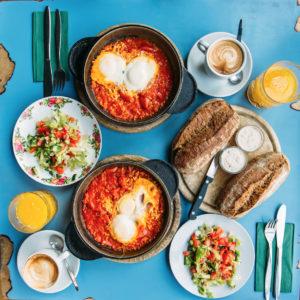 blog image for baked eggs recipe