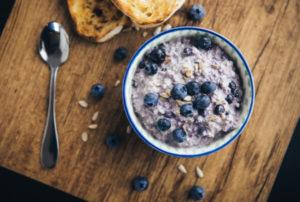 blog image for blueberry porridge
