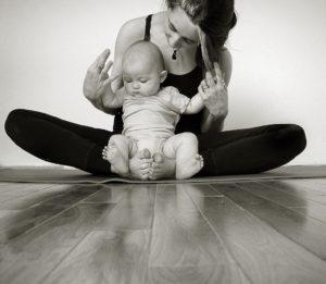 blog image for baby yoga
