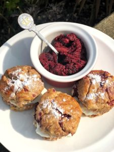 blog image for recipe healthy cream tea