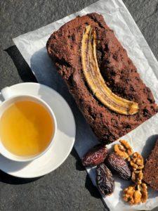 blog image for gluten free banana bread