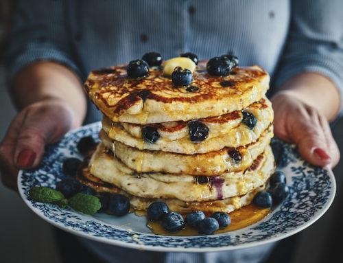 Weekend Favourite – Banana Oatmeal Pancakes